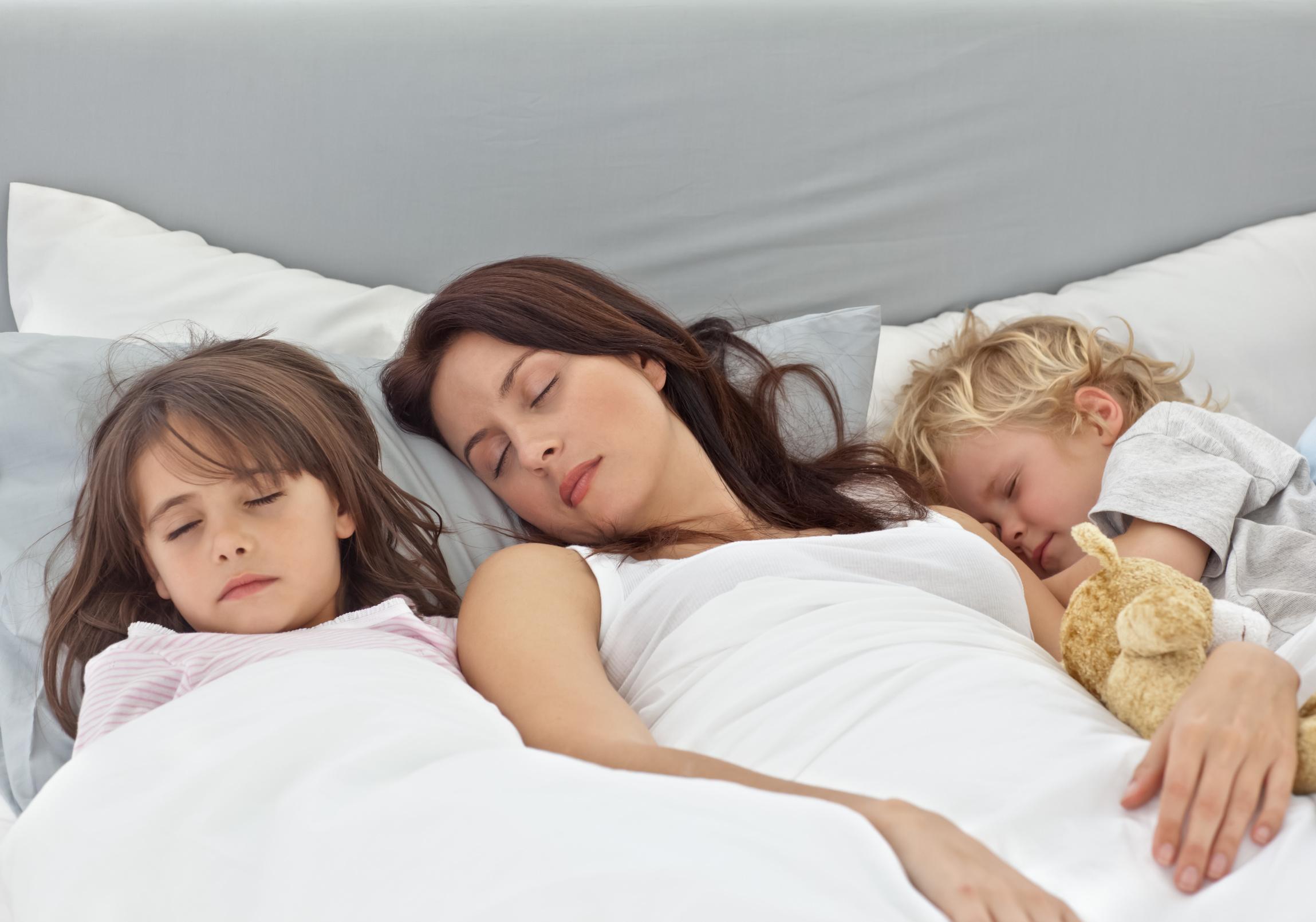 cudowne dziecko, zmęczona mama, sposoby na sen